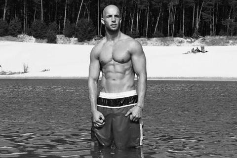 Rene Siebeck Trainer im Wasser